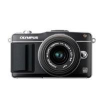Olympus | E-PM2 Digital Camera with 14-42mm 2R Zoom Lens (Black) | V206021BU000