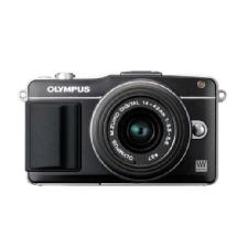 Olympus E-PM2 Digital Camera with 14-42mm 2R Zoom Lens (Black)