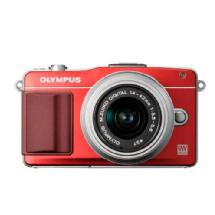 Olympus E-PM2 Digital Camera with 14-42mm 2R Zoom Lens (Red)
