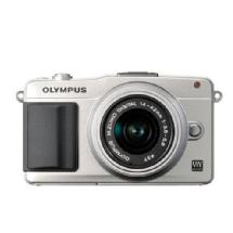 Olympus E-PM2 Digital Camera with 14-42mm 2R Zoom Lens (Silver)