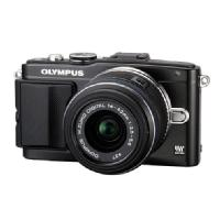 Olympus | E-PL5 Digital Camera with 14-42mm 2R Zoom Lens (Black) | V205041BU000
