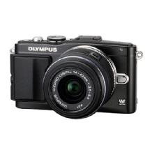 Olympus E-PL5 Digital Camera with 14-42mm 2R Zoom Lens (Black)
