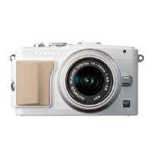 Olympus E-PL5 Digital Camera with 14-42mm 2R Zoom Lens (White)