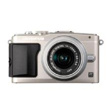 Olympus E-PL5 Digital Camera with 14-42mm 2R Zoom Lens (Silver)