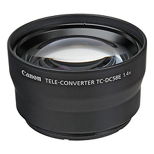 TC-DC58E Teleconverter for PowerShot G15 and G16 Digital Cameras Image 0