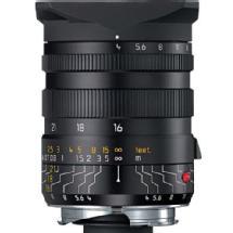 Leica Super Wide Angle Tri-Elmar-M 16-18-21mm f/4 Manual Focus Lens