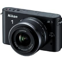 Nikon 1 J2 Mirrorless Digital Camera with 10-30mm VR Zoom Lens - Black
