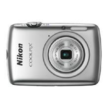Nikon Coolpix S01 Digital Camera - Silver
