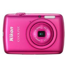 Nikon Coolpix S01 Digital Camera - Pink