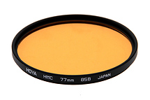 Hoya 77mm 85B Color Conversion Multi-Coated (HMC) Glass Filter (Open Box)