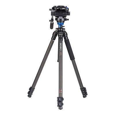 S-Series 2 Video Head & CF Flip Lock Legs Tripod Image 0