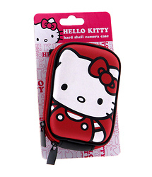 Hello Kitty Hardshell Camera Case (Red)