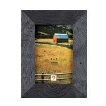 Dennis Daniels Wood Veneer Slate Blue Frame - 4x6 In.