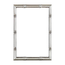 Dennis Daniels Satin Pewter Finish Bamboo Classic - 5x7 Photo Frame