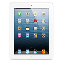Apple | 64GB iPad with Retina Display and Wi-Fi (4th Gen, White) | MD515LLA