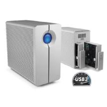 LaCie 6TB 2big Quadra USB 3.0 2-Bay RAID Array