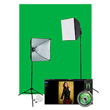 Illusions uLite Green Screen Photo Lighting Kit Image 0
