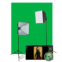 Westcott Illusions uLite Green Screen Photo Lighting Kit