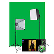 Illusions uLite Green Screen Photo Lighting Kit