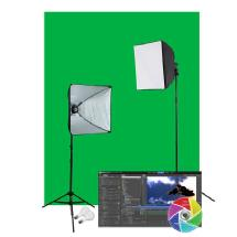 Westcott Illusions uLite Green Screen Video Lighting Kit