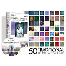 Westcott Illusions 50 Traditional Digital Backgrounds CD