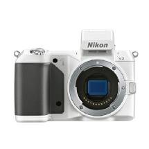 Nikon 1 V2 Mirrorless Digital Camera Body (White)