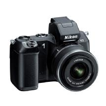 Nikon 1 V2 Mirrorless Digital Camera with 1 NIKKOR VR 10-30mm Lens (Black)