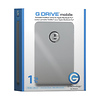 G-Technology 1TB G-Drive Mobile Portable Hard Drive (USB 2.0, FireWire 800)