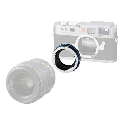 Lens Adapter for Nikon Lens to Leica M Camera Image 0