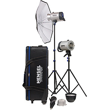 Integra 500 2 Light Kit with Stands Image 0
