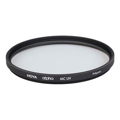 Black Leica E67 67mm UVa II Glass Filter