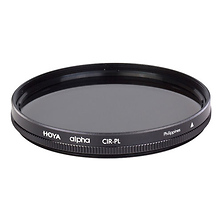 62mm alpha Circular Polarizer Filter Image 0