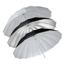 Westcott 7ft. Parabolic Umbrellas Triple Pack