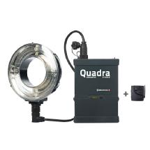 Elinchrom Quadra Hybrid Ringflash Eco Set with Lead-Gel Batteries