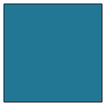 GAM Products GamColor 760 Aqua Blue Gel Filter (20x24 In., Sheet)