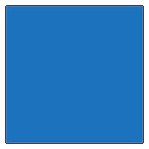 GAM Products GamColor 810 Moon Blue Gel Filter (20x24 In., Sheet)