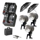 Dynalite | MK4-1222V RoadMax 400W/s 2 Pack 3 Head Kit (120V) | MK4-2302V