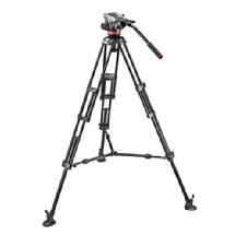 Manfrotto Mvh502A Head, 546B Tripod With Carrying Bag (Open Box)