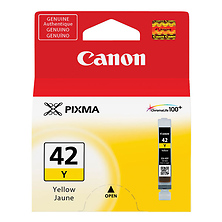 CLI-42 Yellow Ink Cartridge Image 0
