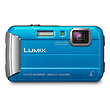 Lumix DMC-TS25 Digital Camera (Blue)