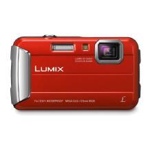 Panasonic Lumix DMC-TS25 Digital Camera (Red)