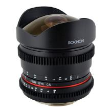 Rokinon 8mm T/3.8 Fisheye Cine Lens for Nikon