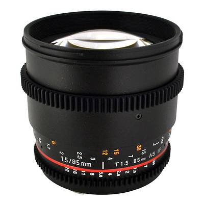 85mm T/1.5 Cine Lens for Sony E Mount Cameras Image 0