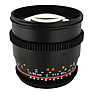 85mm T/1.5 Cine Lens for Sony E Mount Cameras