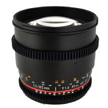 Rokinon 85mm T/1.5 Cine Lens for Sony E Mount Cameras