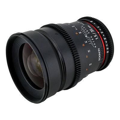 35mm T/1.5 Cine Lens for Canon Image 0
