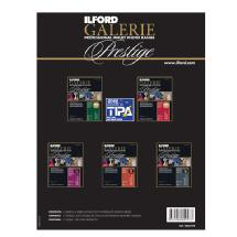 Ilford 8.5 x 11 Inches Prestige Complete Smooth Range Sample Pack (15 Pk, Black)