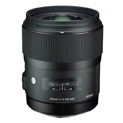 35mm f/1.4 DG HSM Art Lens for Nikon F Image 0