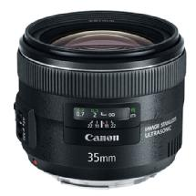 Canon EF 35mm f/2.0 IS USM Standard Prime Lens