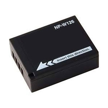 NP-W126 Lithium Ion 1260mAh 7.2V Battery for Fujifilm Image 0